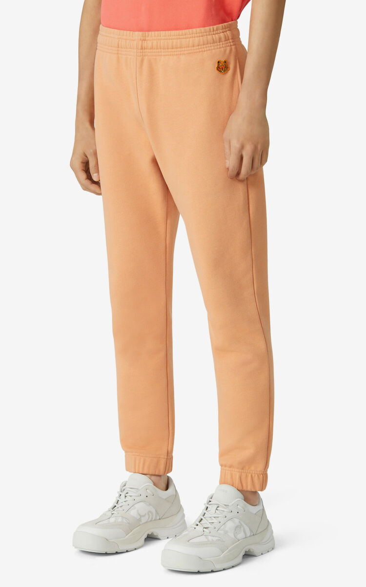 COGNAC Tiger Crest jogging trousers for women KENZO