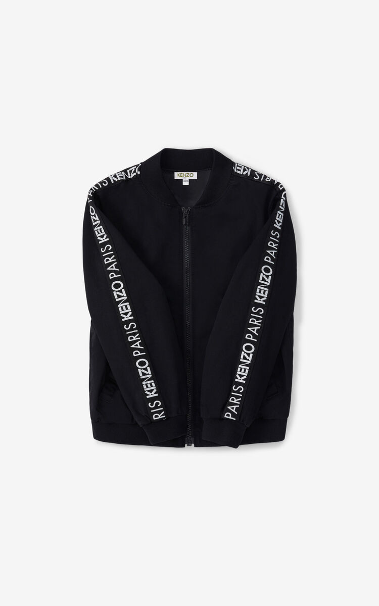 BLACK 'Vegas' bomber jacket for men KENZO