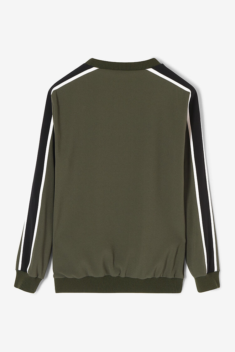 DARK KHAKI Tiger Top  for women KENZO