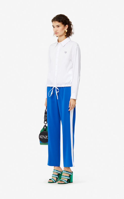 FRENCH BLUE Fluid trousers for women KENZO