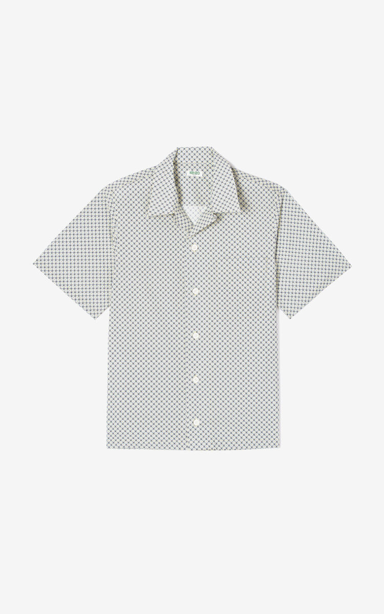 BISCUIT Monogram Tiger' casual shirt for men KENZO