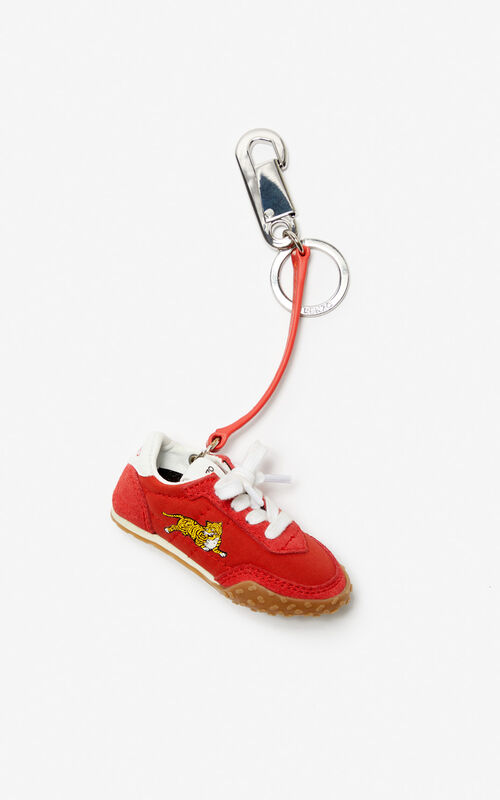 MEDIUM RED KENZO Move bag charm for unisex