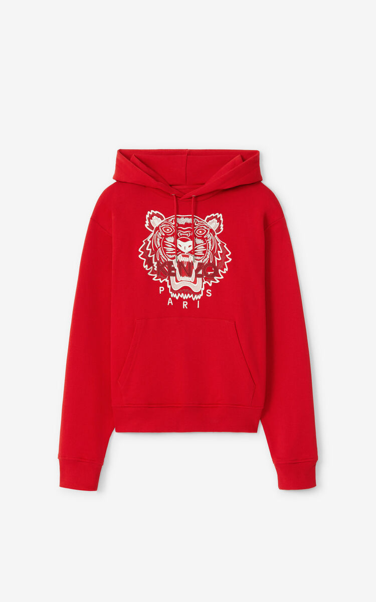 CHERRY Tiger hoodie for men KENZO