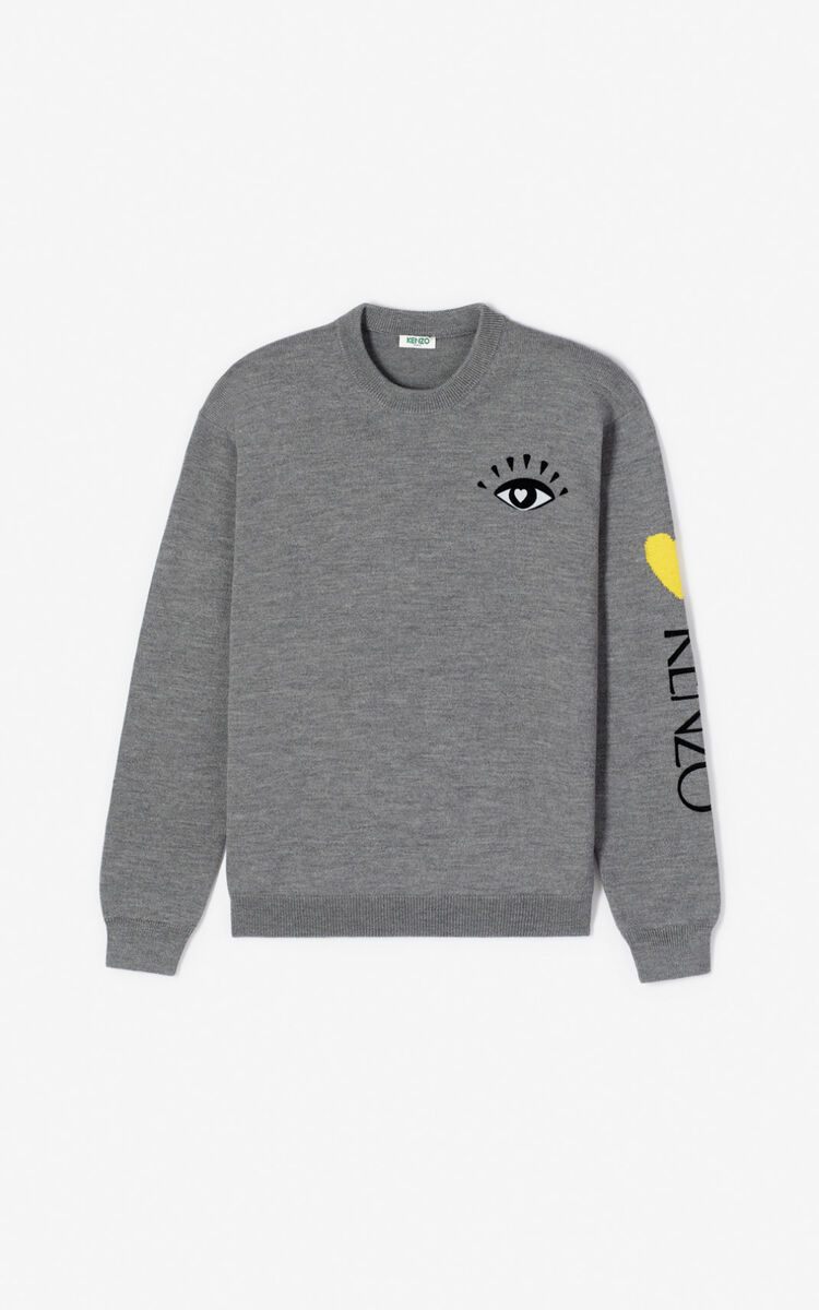 ANTHRACITE 'Cupid' jumper for men KENZO