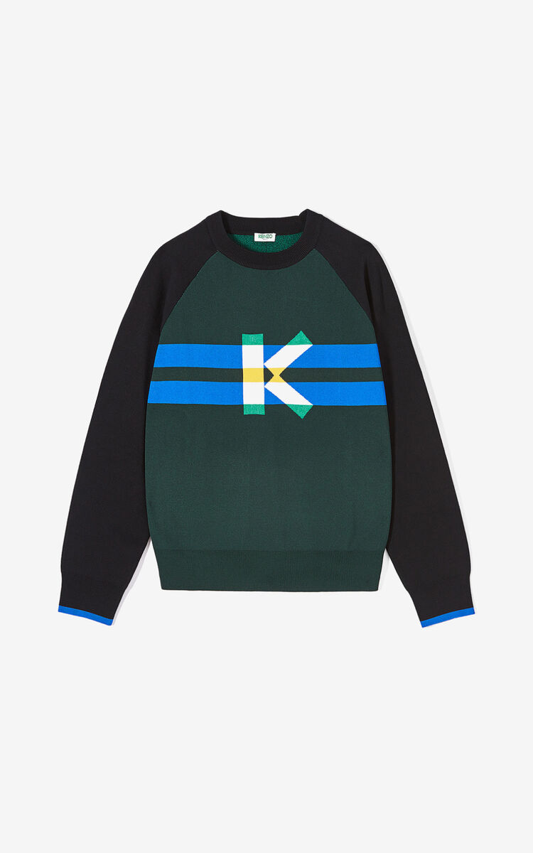 PINE 'Graphic K' jumper for men KENZO