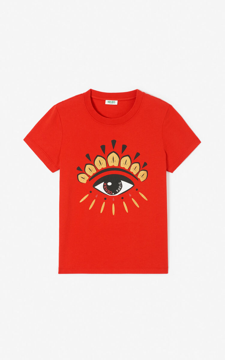 VERMILLION Eye t-shirt for women KENZO