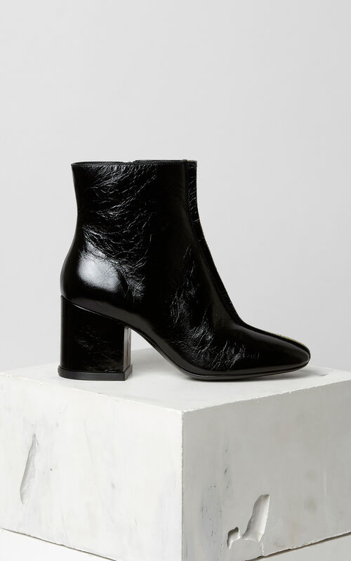 BLACK Daria ankle boots for unisex KENZO
