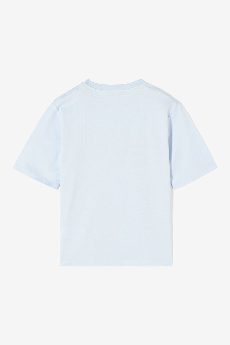 LIGHT BLUE Ventilators vs. Desert  t-shirt for women KENZO