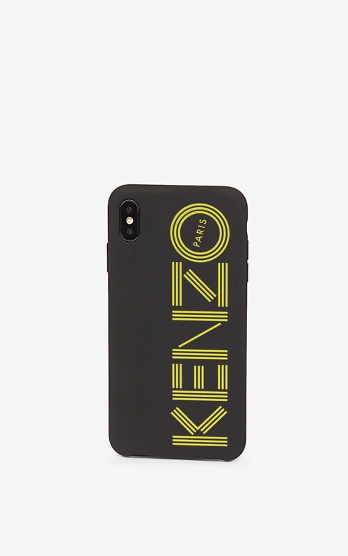 GOLDEN YELLOW iPhone XS Max Case for women KENZO