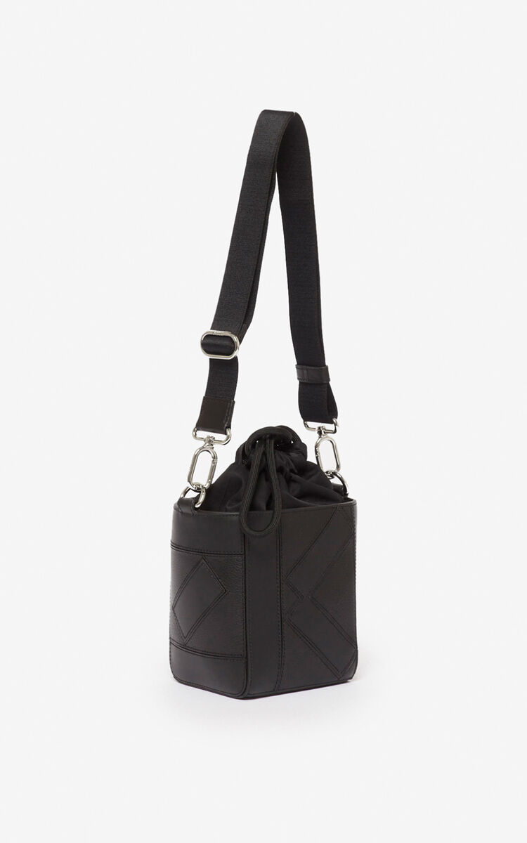 BLACK Kube Nano Tote Bag for women KENZO