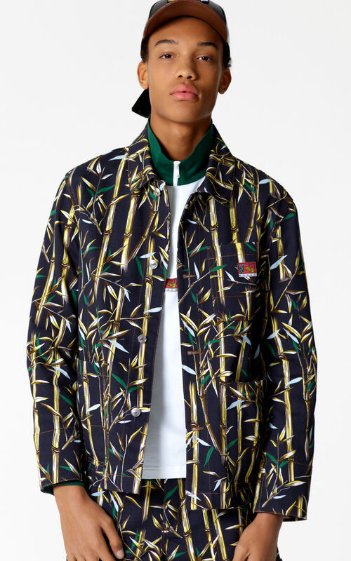 INK 'Bamboo Leaf' jacket for men KENZO