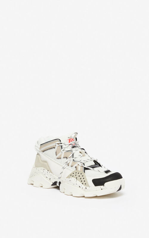 PALE GREY Inka sneakers  for unisex KENZO