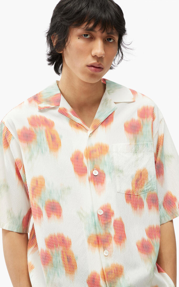 POPPY 'Coquelicot' casual shirt for men KENZO