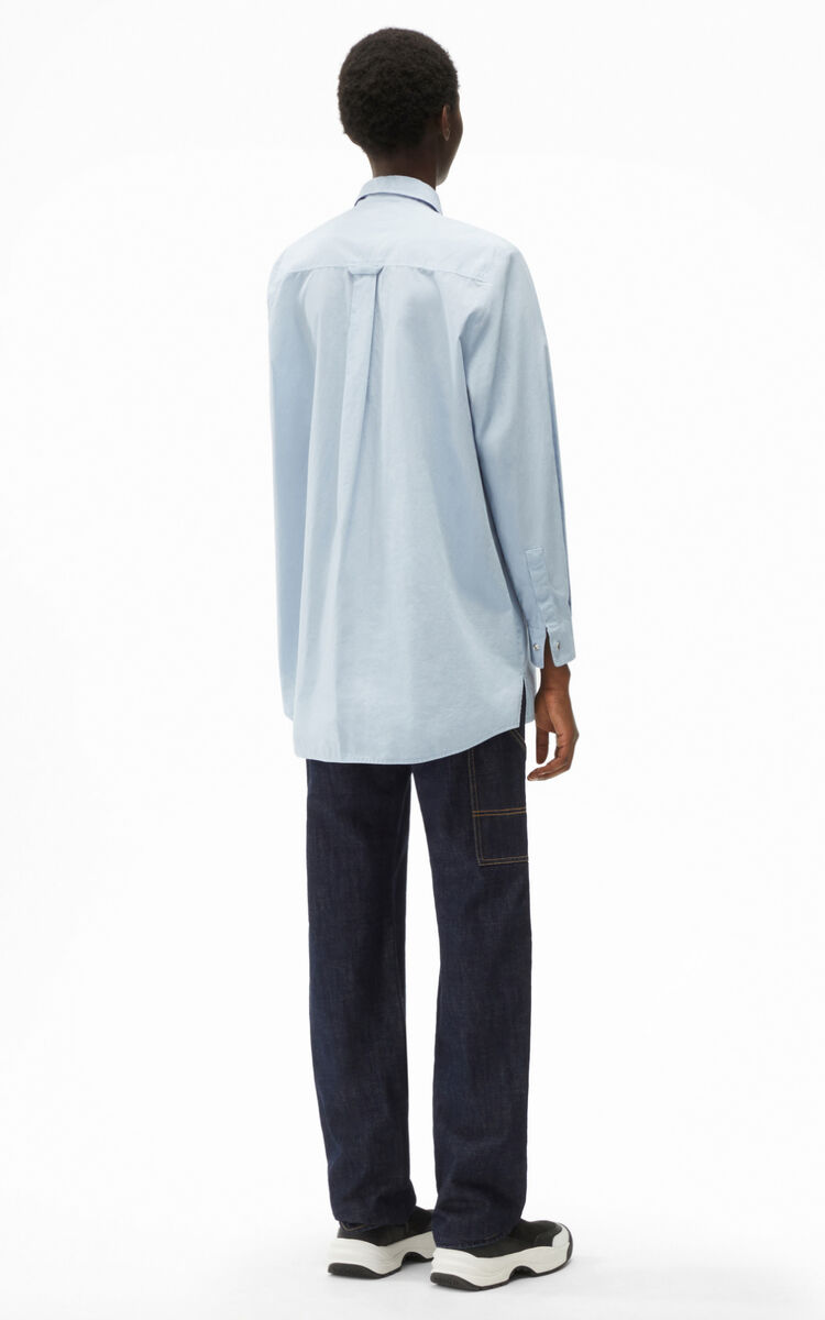 GLACIER Long knotted shirt for women KENZO