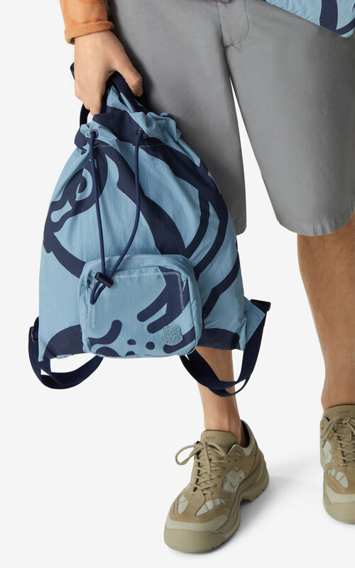 GLACIER K-Tiger foldable backpack for women KENZO
