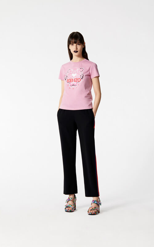 BEGONIA 'Bleached Tiger ' T-shirt for women KENZO