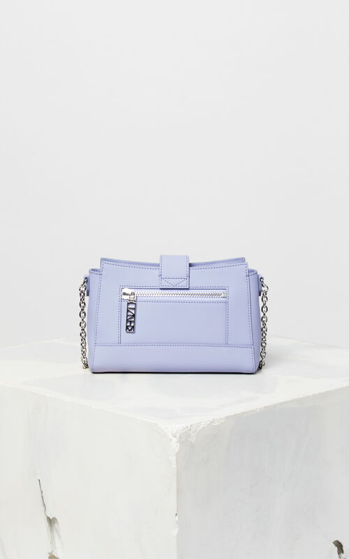 LAVENDER Tiny leather Kalifornia bag for unisex KENZO