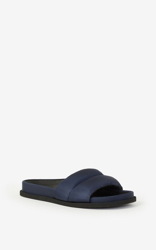 NAVY BLUE Komfy mules for unisex KENZO