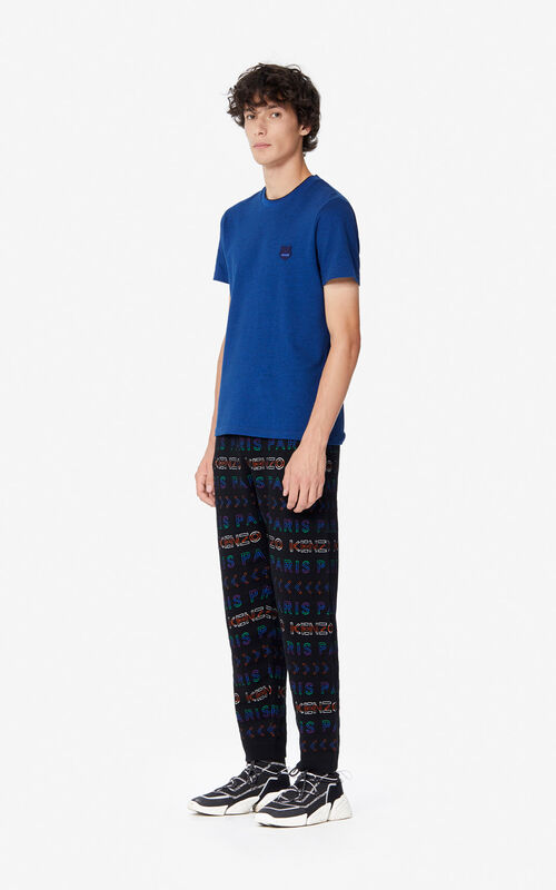 MULTICOLOR KENZO Paris knit trousers for women