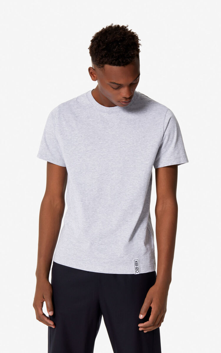 PALE GREY KENZO t-shirt for men