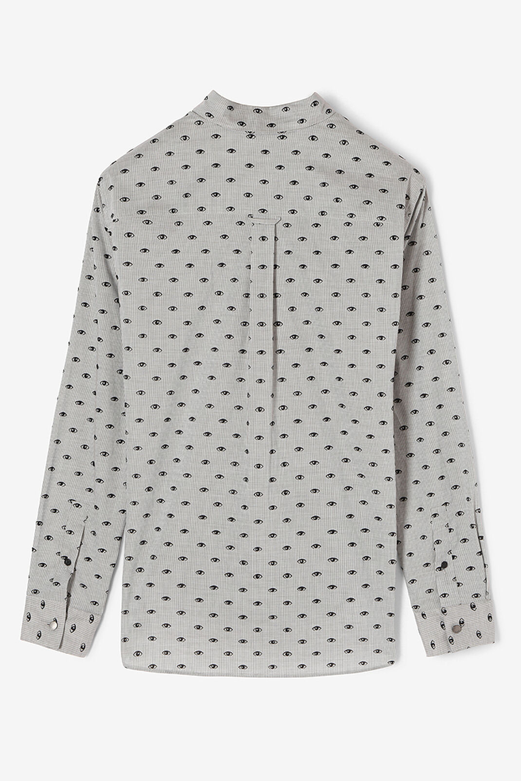 PALE GREY 'Multi Eye' shirt for women KENZO