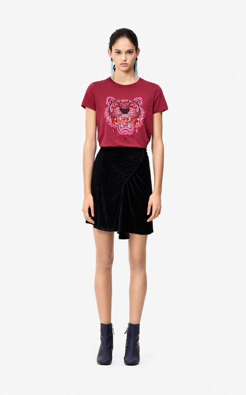3b89619f9 ... PEONY RED 24 Tiger T-shirt for women KENZO