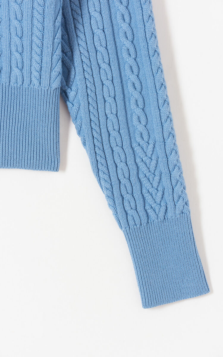 SKY BLUE Turtleneck jumper for women KENZO