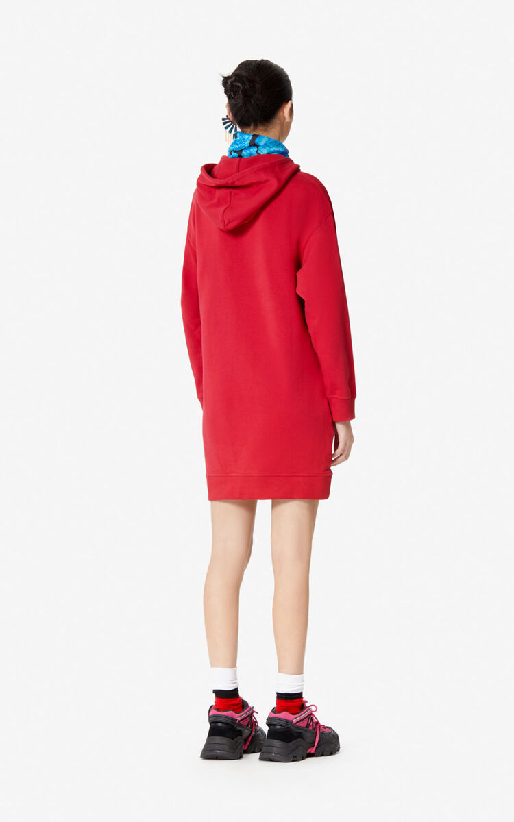 CHERRY KENZO Paris 'Peony' sweatshirt dress for women