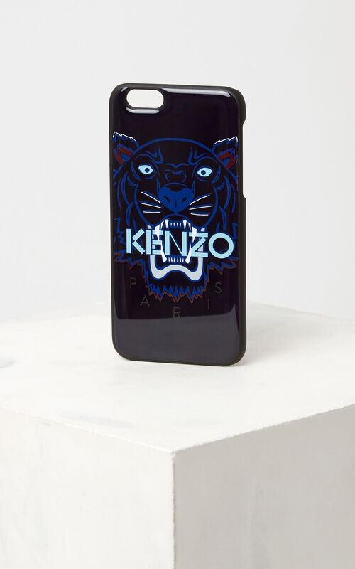 Tiger iPhone 6/6S case, NAVY BLUE, KENZO