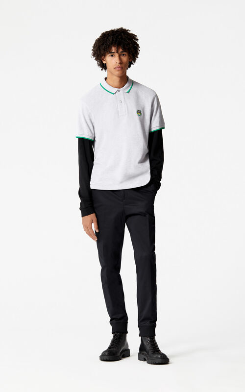BLACK KENZO Paris joggers for men