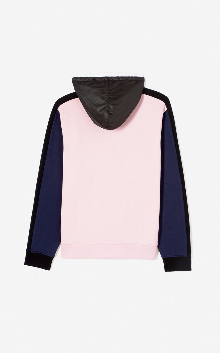 PASTEL PINK KENZO Logo Colour Block Sweatshirt for women