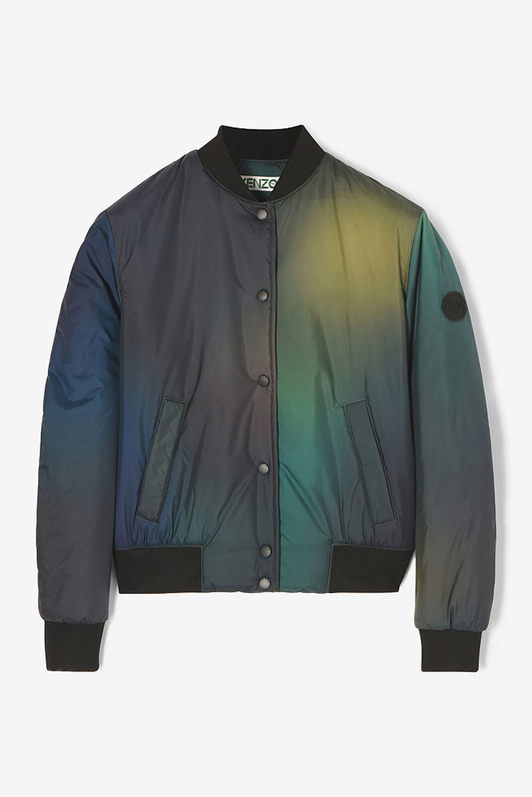 DARK KHAKI Northern Lights Bomber Jacket for women KENZO