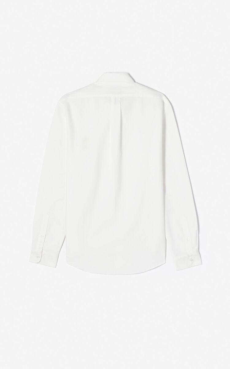 WHITE 'Cupid' casual shirt for men KENZO