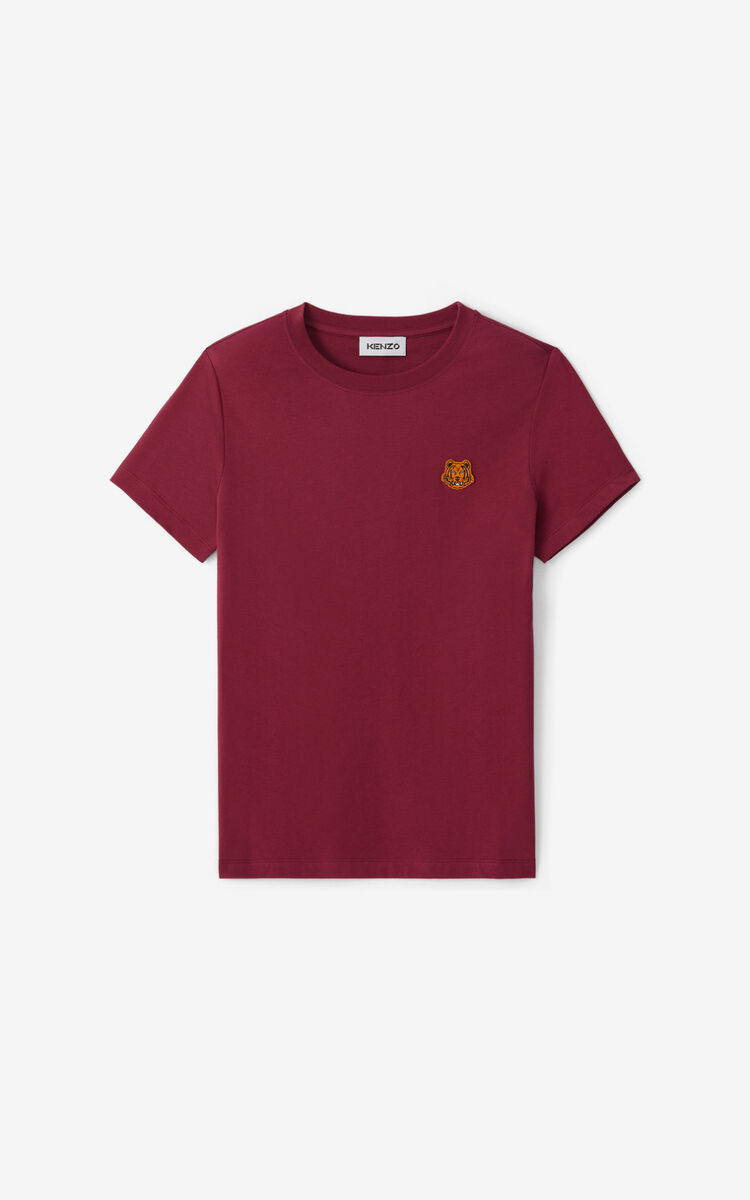 MAGENTA Tiger Crest T-shirt for women KENZO