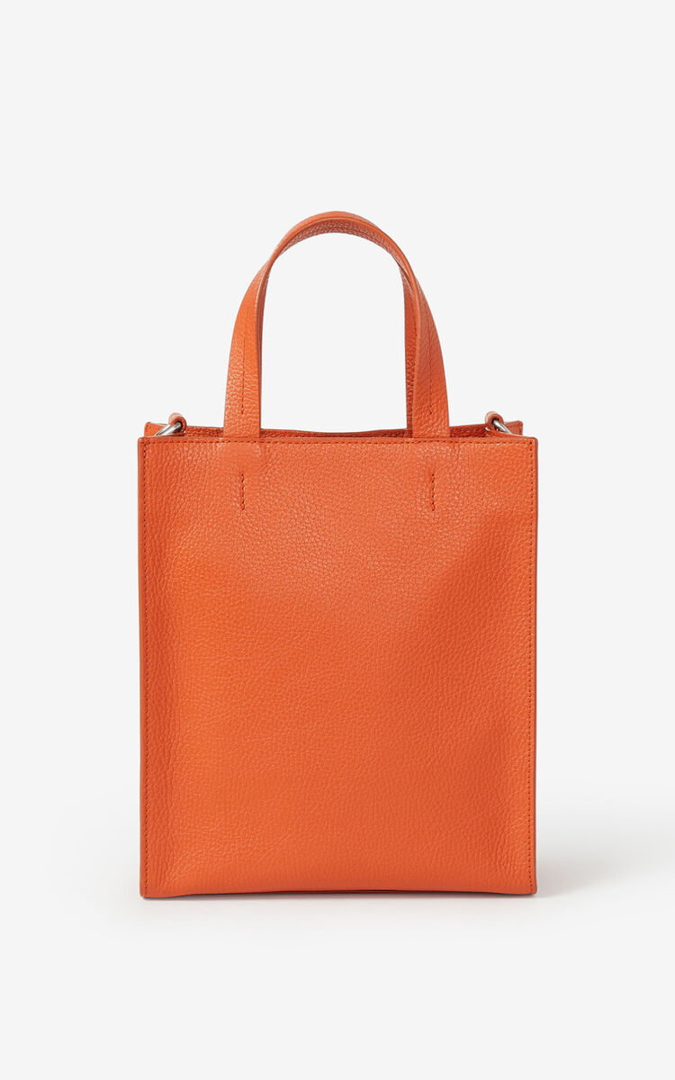 PAPRIKA KENZO Imprint small grained leather tote bag for women