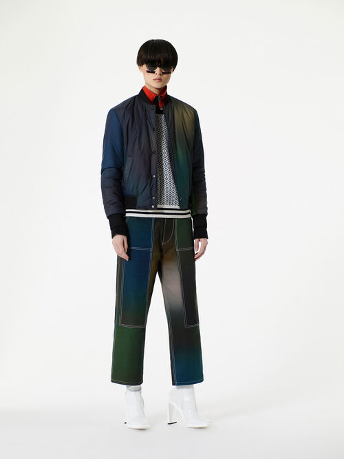 DARK KHAKI Northern Lights' Pants for women KENZO