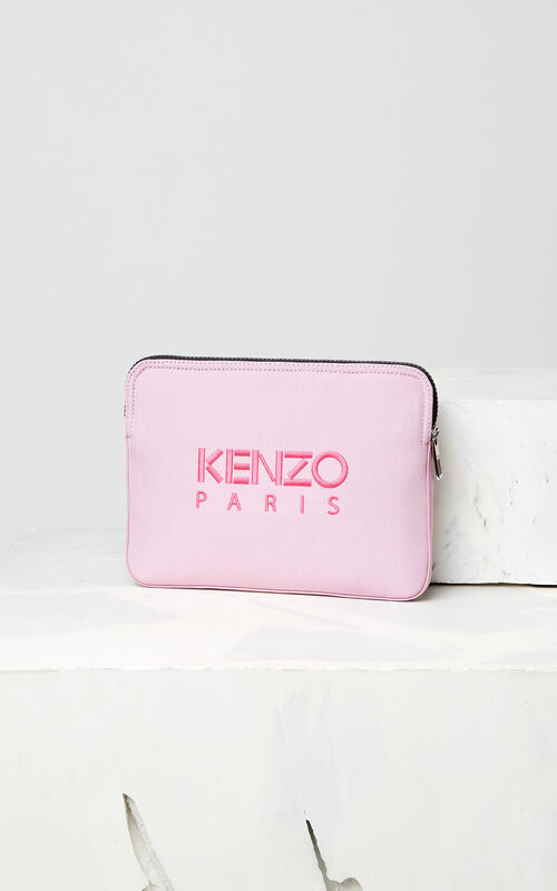 FLAMINGO PINK Tiger tablet sleeve for unisex KENZO