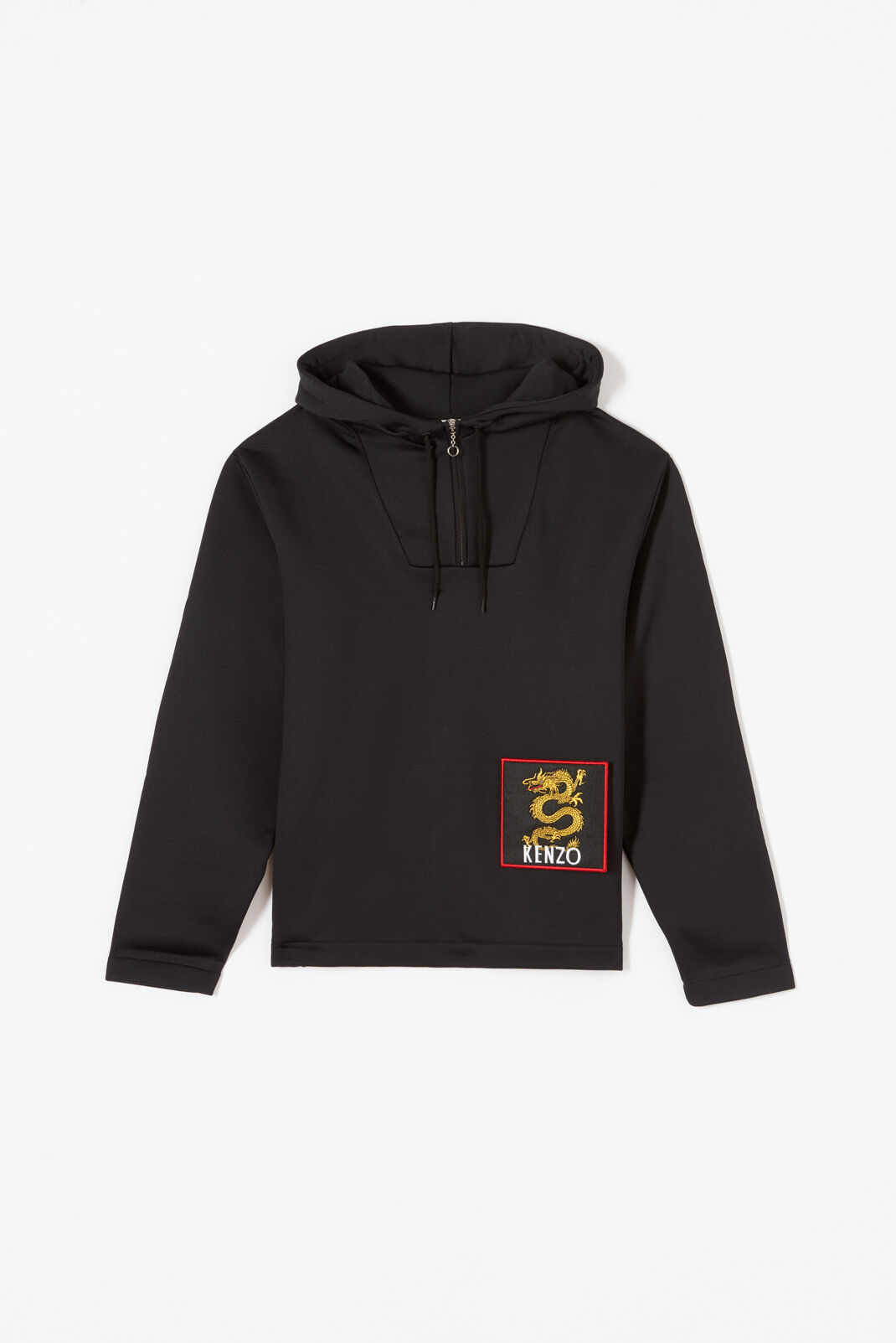 BLACK Dragon hoodie for men KENZO
