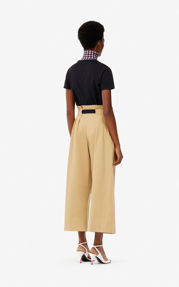 DARK BEIGE Culotte trousers for women KENZO