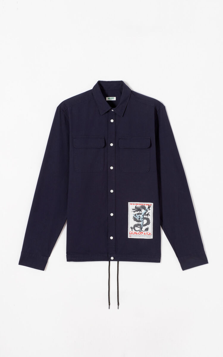 INK 'Movie Poster' shirt for men KENZO