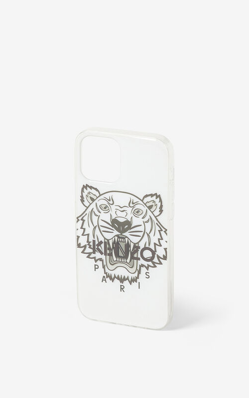 WHITE iPhone 12 Pro case for unisex KENZO
