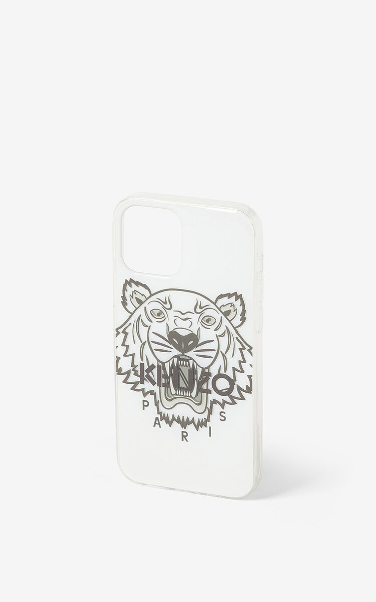 WHITE iPhone 12 Pro case for women KENZO