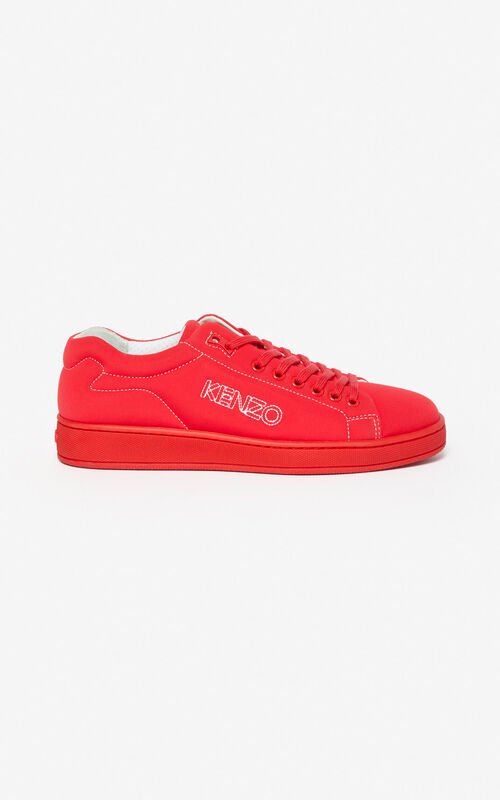 MEDIUM RED Tennix sneakers for unisex KENZO