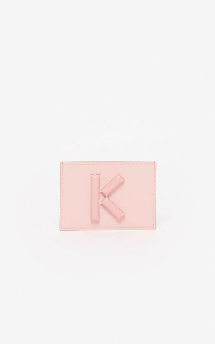 FADED PINK Kandy card holder  for unisex KENZO