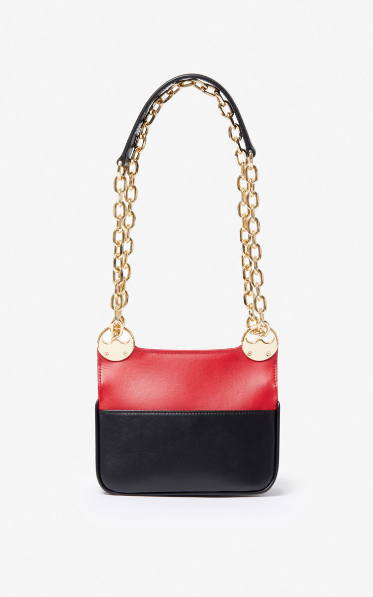 MEDIUM RED 'Chinese New Year Capsule' TALI crossbody bag for unisex KENZO