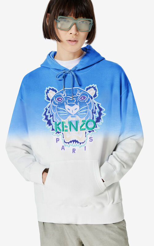 LAVENDER Hooded gradient Tiger sweatshirt    for women KENZO