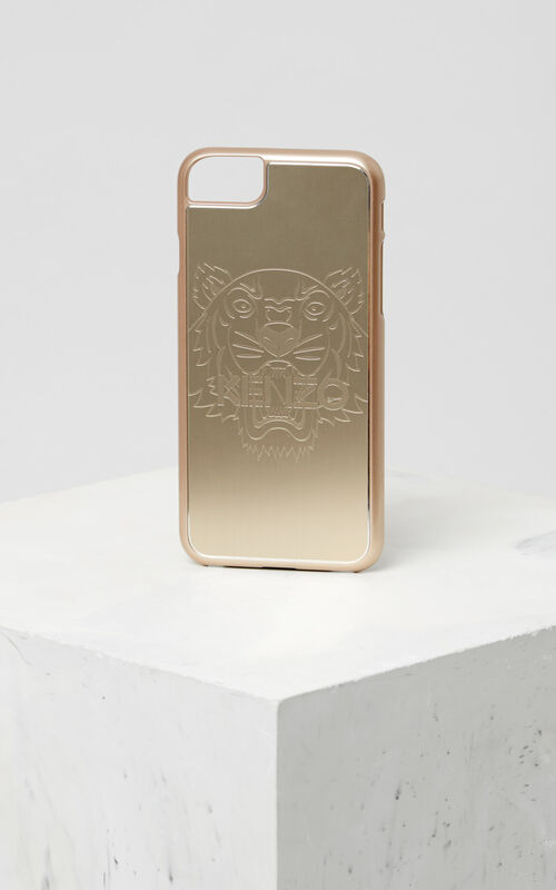 GOLD iPhone 7/8 Tiger Case for unisex KENZO