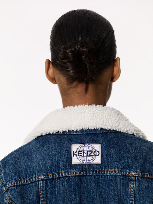 NAVY BLUE 'Trucker' Jacket for women KENZO