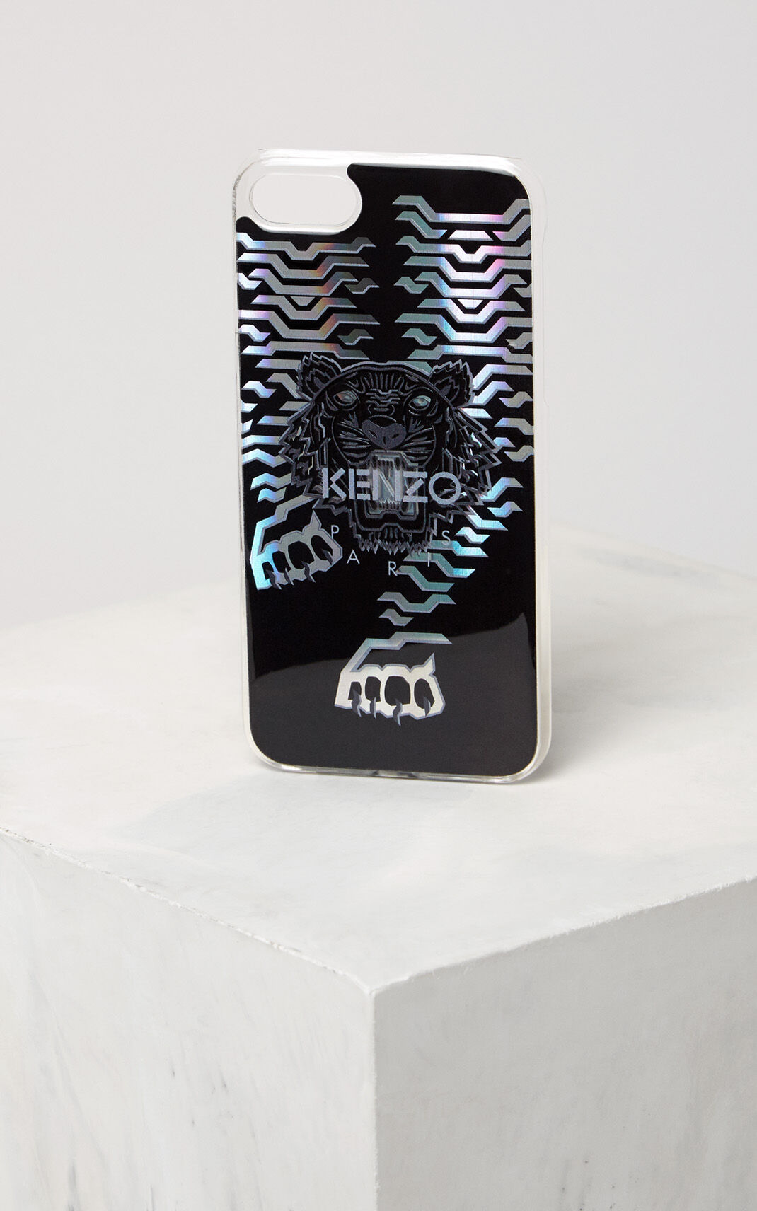 SILVER Geo Tiger iPhone 7/8 case for men KENZO