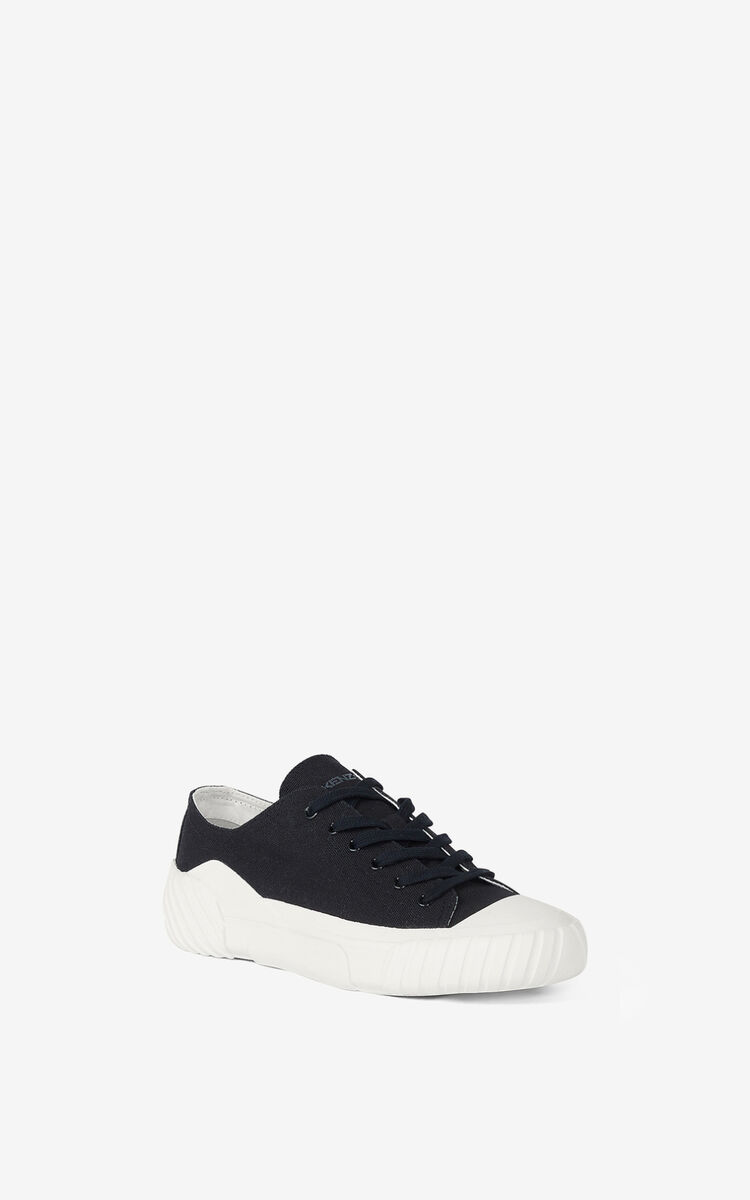 BLACK Tiger Crest trainers    for unisex KENZO